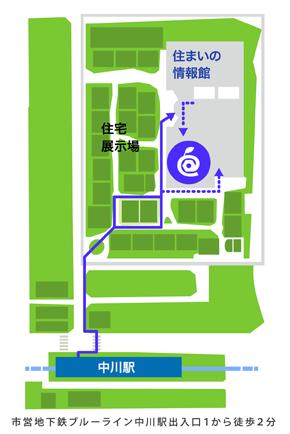 ナレッジビーンズ港北オフィス地図